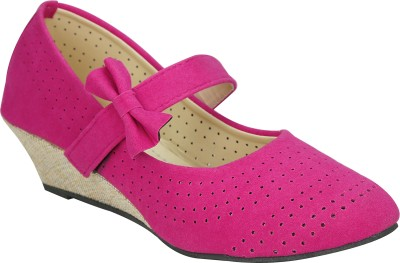 Smart Traders Women Pink Wedges