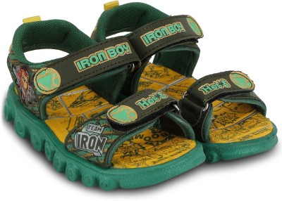 M-ZONE Baby Boys, Baby Girls Green, Yellow Sandals