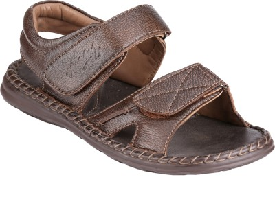 Menz WP-04 Men Brown Sandals