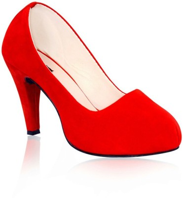 Sam Stefy Women Red Heels