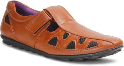 Bacca Bucci Men Tan Sandals