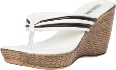 KEVIN SPADE Women White Wedges