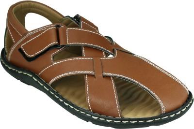 Azazo Men, Boys Tan Sandals