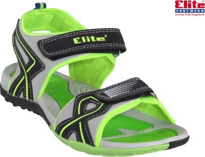 Elite Men Grey Sandals