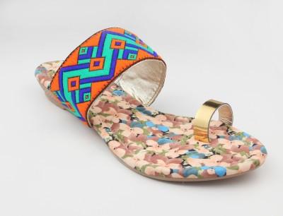 RUNWALK Girls Multicolor Flats