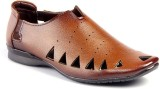 JK Port Men Brown Sandals