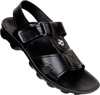 VKC Boys Black Sandals