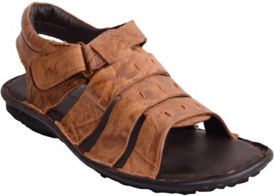 Mardi Gras Men Tan Sandals