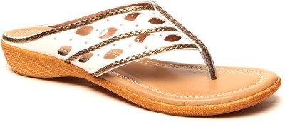 Anand Archies Women White Flats