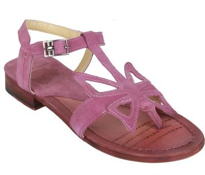Salt N Pepper Women Purple Flats