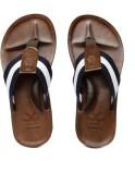 WROGN Men Navy::White Sandals