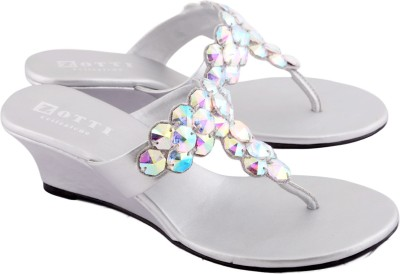 Zotti Brazil Women Silver Wedges