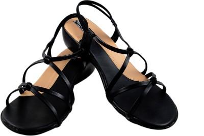 Leatherwood1 Women Black Heels