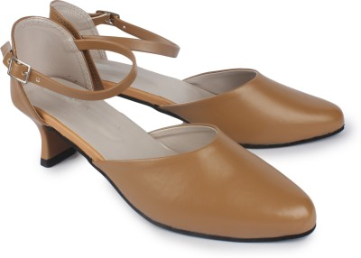 Anaya Women Tan Heels