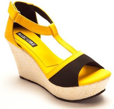 Marc Loire Marc Loire GLAM MENTOR Women Black, Yellow Heels