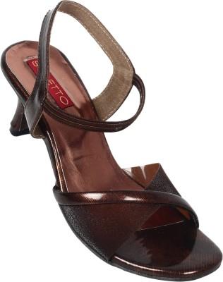 Stiletto Women Black Heels