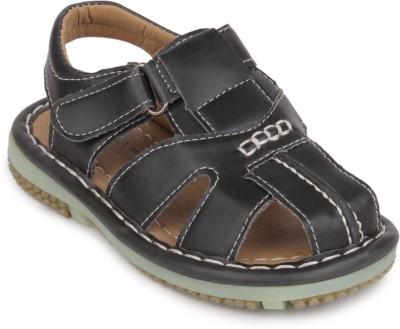 Action Shoes Boys Black Sandals