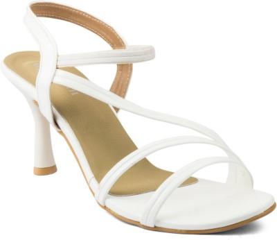 Wellworth Women White Heels