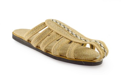 Kakolikrishti Men Beige Sandals