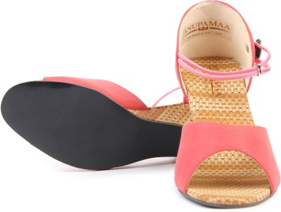 Anupamaa Pinky Sand Girls Pink Sports Sandals