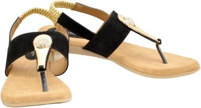 Canvera Women Black Flats