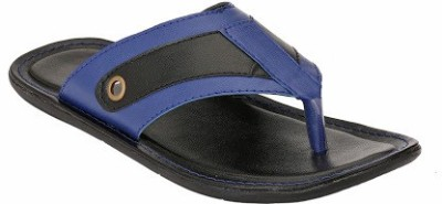 Jacs Shoes Men Blue Sandals
