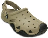 Crocs Men Khaki Sandals