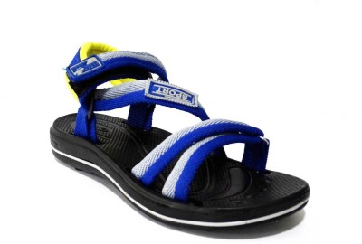 AMVI Boys Blue, Yellow Sandals