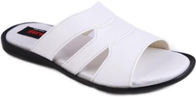 Balujas Men White Sandals