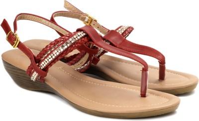 Lavie Women Red Flats