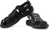 High Sierra Men Black Sandals