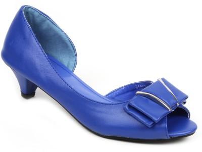 Factoryrush Women Blue Wedges