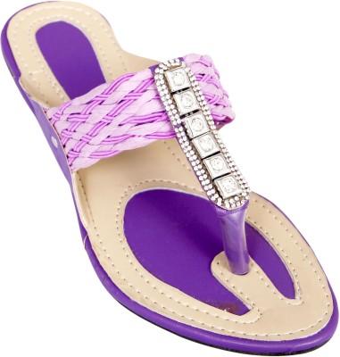 Step Zone Girls Purple Flats