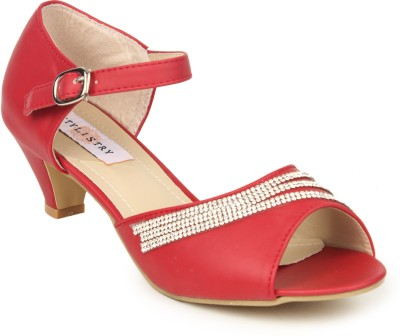 Stylistry Women Red Heels