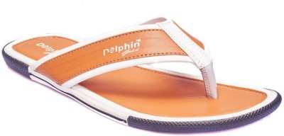 Dolphin Miles Men Gold Sandals