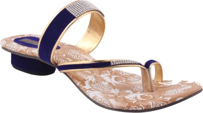Sapyork Women Blue Heels