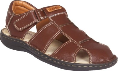 Eagle Comfort Men Burgundy Sandals