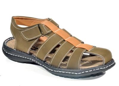 Kohinoor Cool Olive Men Olive Sandals