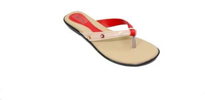 Florentyne Women Red Flats