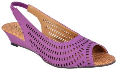 Jolly Jolla Women Purple Wedges