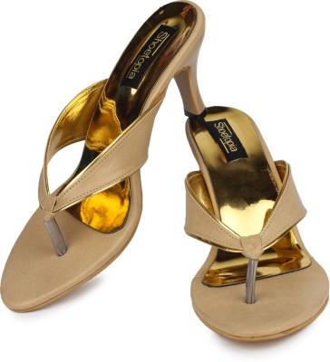 Shoetopia Women Camel Heels