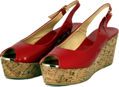 Touristor Capella Women Red Wedges