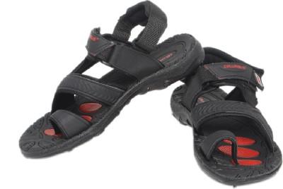 Columbus Men Black Sandals