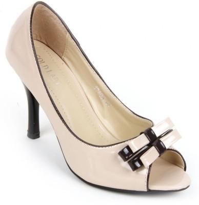 Factoryrush Women Beige Heels