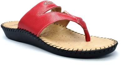 Canthari Ortho Women Red Flats
