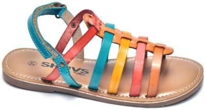 Shuvs Girls Multicolor Sandals