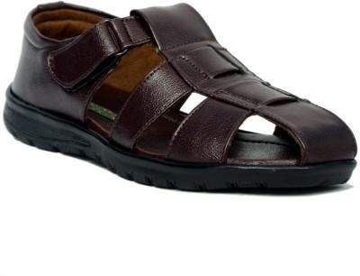 Signet India Men Brown Sandals