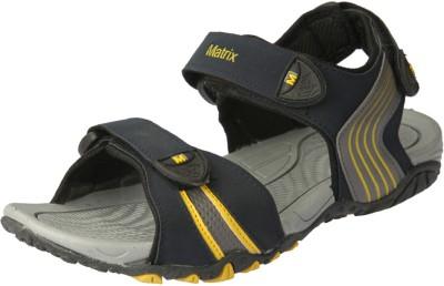 Matrix Men Yellow, Black Sandals