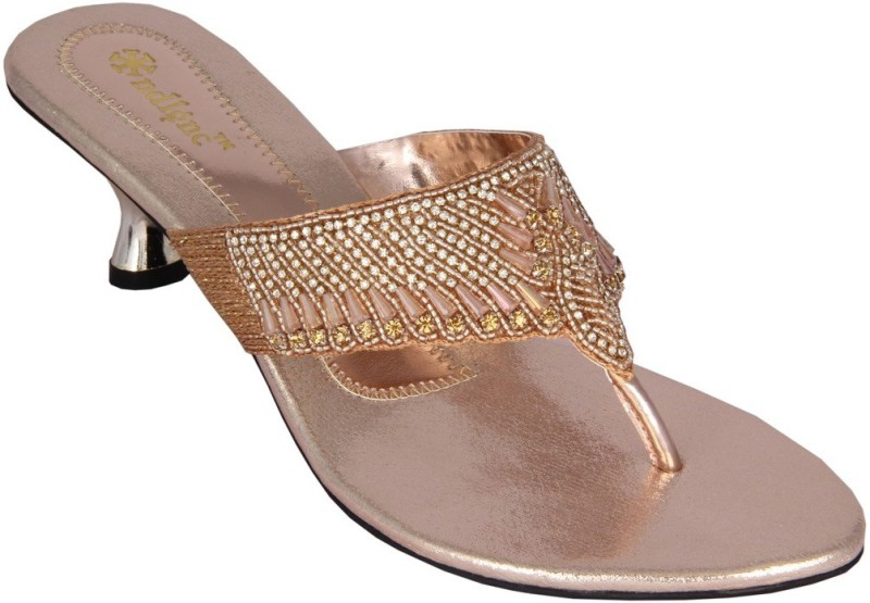 Indulgence Women Gold Heels
