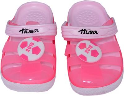 Crocslite Girls Pink Sandals
